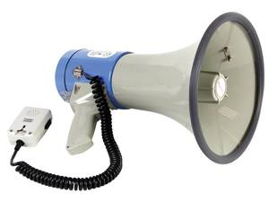 Bilde av Megafon 25W med sirene